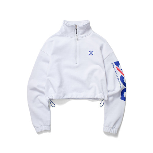 BCG HALF ZIP UP CESAGMT01WH