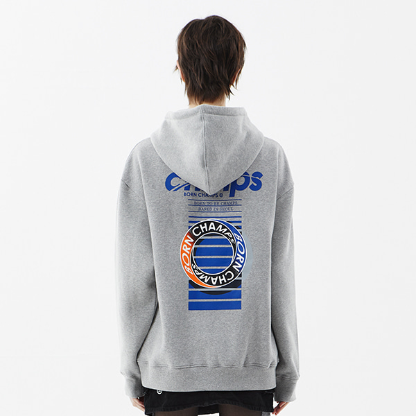 CHMPS ONE HOODY CETDMHD03GY