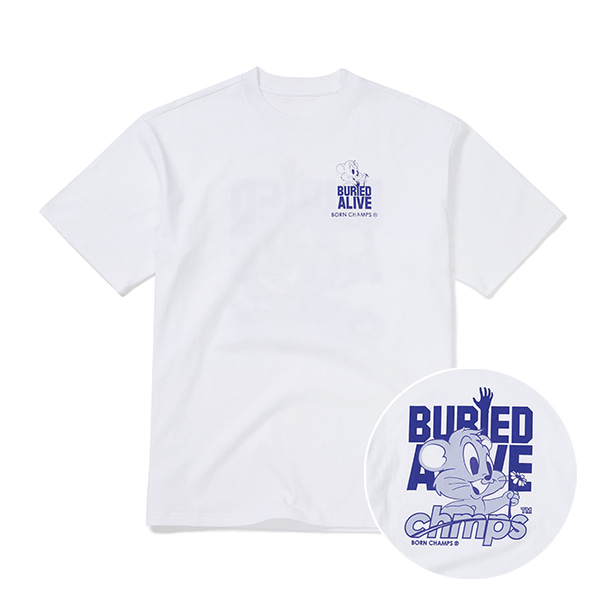 BC X BA CHMPS ALIVE TEE B21ST05WH