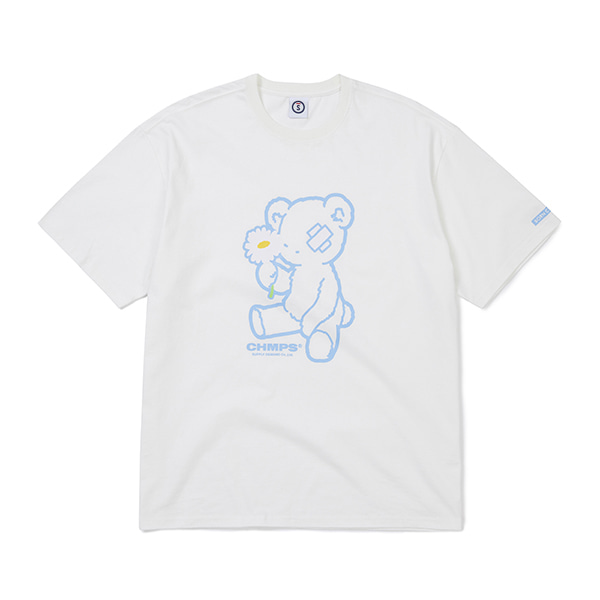 BLUE BEAR TEE B21ST19WH
