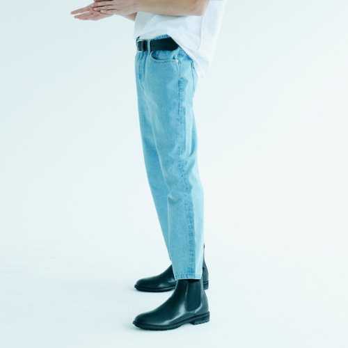 BCHMPS CROP STRAIGHT DENIM BLUE BETAMPT01BL