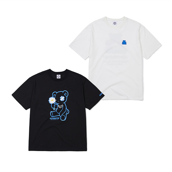 JELLY BEAR TEE & BLUE BEAR TEE