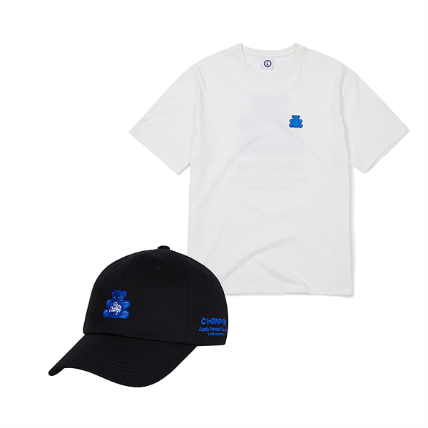 JELLY BEAR TEE & CAP SET