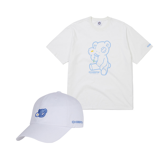 BLUE BEAR TEE & CAP SET